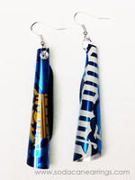 Corona Beer Tube Earrings