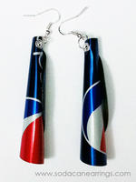 Pepsi Tube Earrings